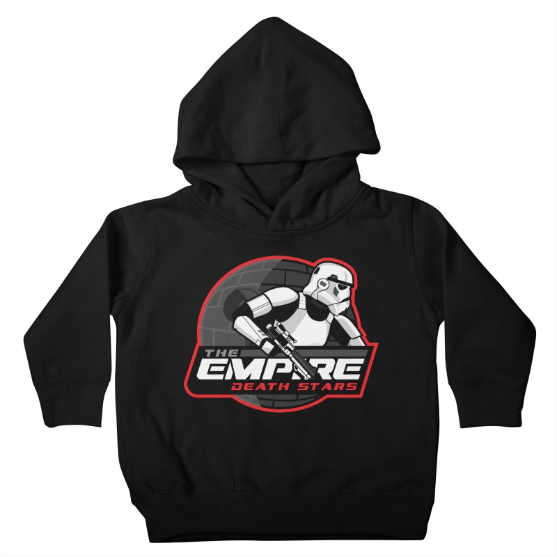 The Empire Death Stars Kids Toddler Pullover Hoody by Chicago Bruise Brothers Roller Derby