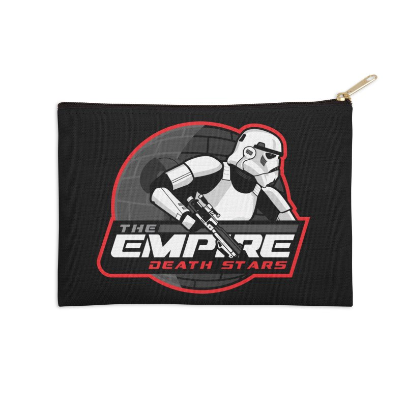 The Empire Death Stars Accessories Zip Pouch by Chicago Bruise Brothers Roller Derby