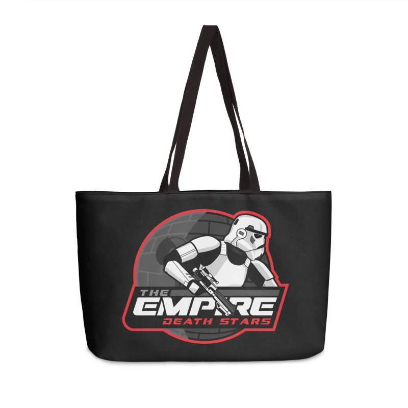 The Empire Death Stars Accessories Weekender Bag Bag by Chicago Bruise Brothers Roller Derby