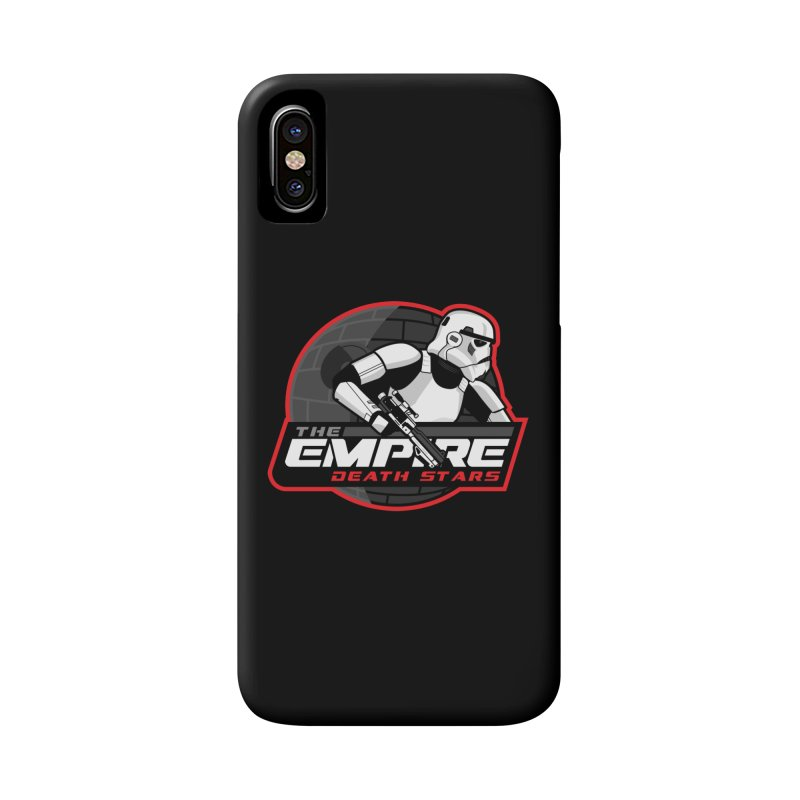 The Empire Death Stars Accessories Phone Case by Chicago Bruise Brothers Roller Derby
