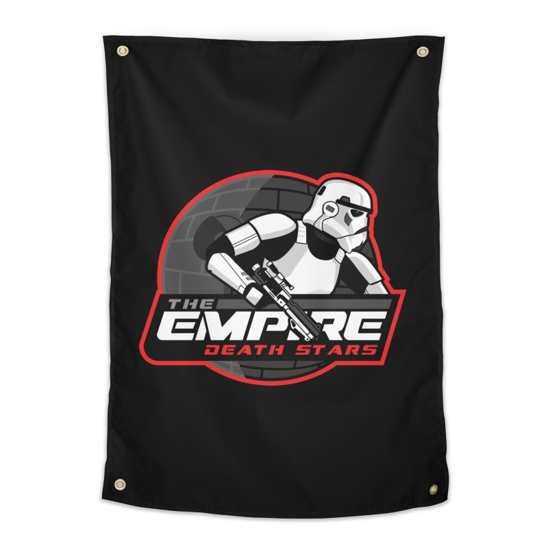 The Empire Death Stars Home Tapestry by Chicago Bruise Brothers Roller Derby
