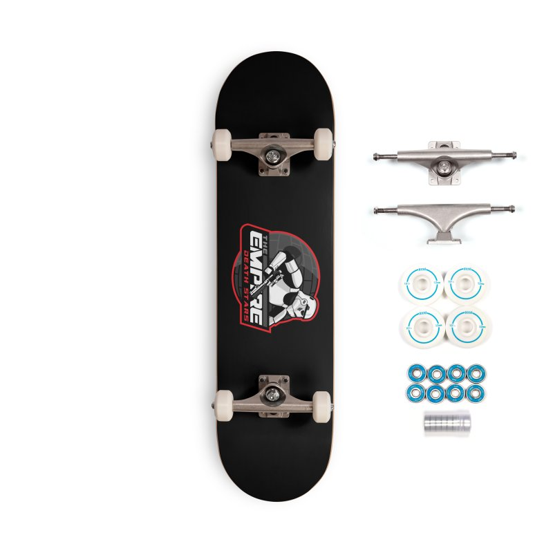 The Empire Death Stars Accessories Complete - Basic Skateboard by Chicago Bruise Brothers Roller Derby