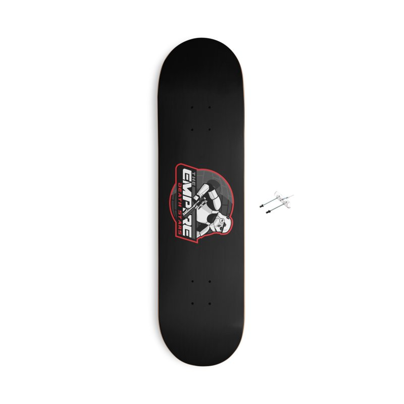 The Empire Death Stars Accessories Skateboard by Chicago Bruise Brothers Roller Derby