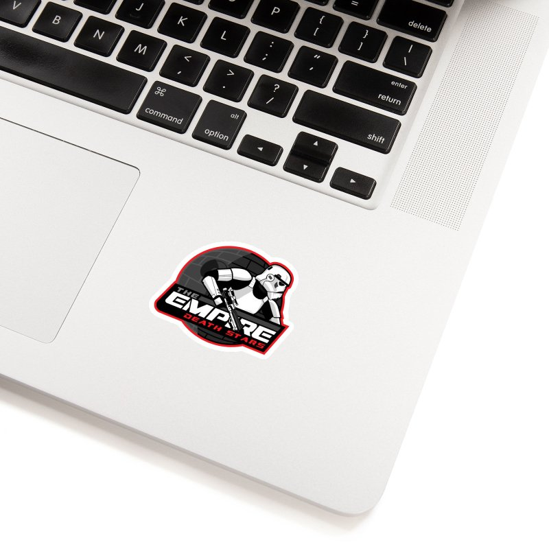 The Empire Death Stars Accessories Sticker by Chicago Bruise Brothers Roller Derby