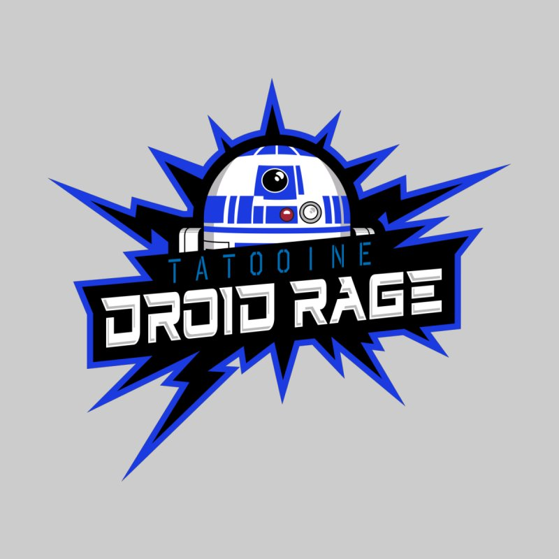 Tatooine Droid Rage Men's Longsleeve T-Shirt by Chicago Bruise Brothers Roller Derby