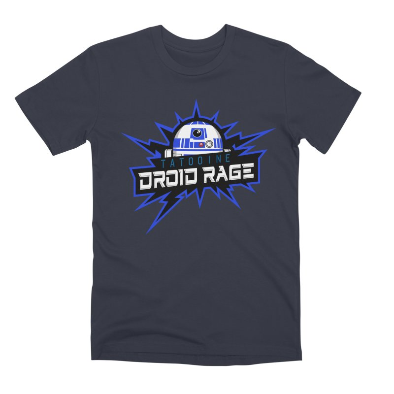 Tatooine Droid Rage Men's Premium T-Shirt by Chicago Bruise Brothers Roller Derby