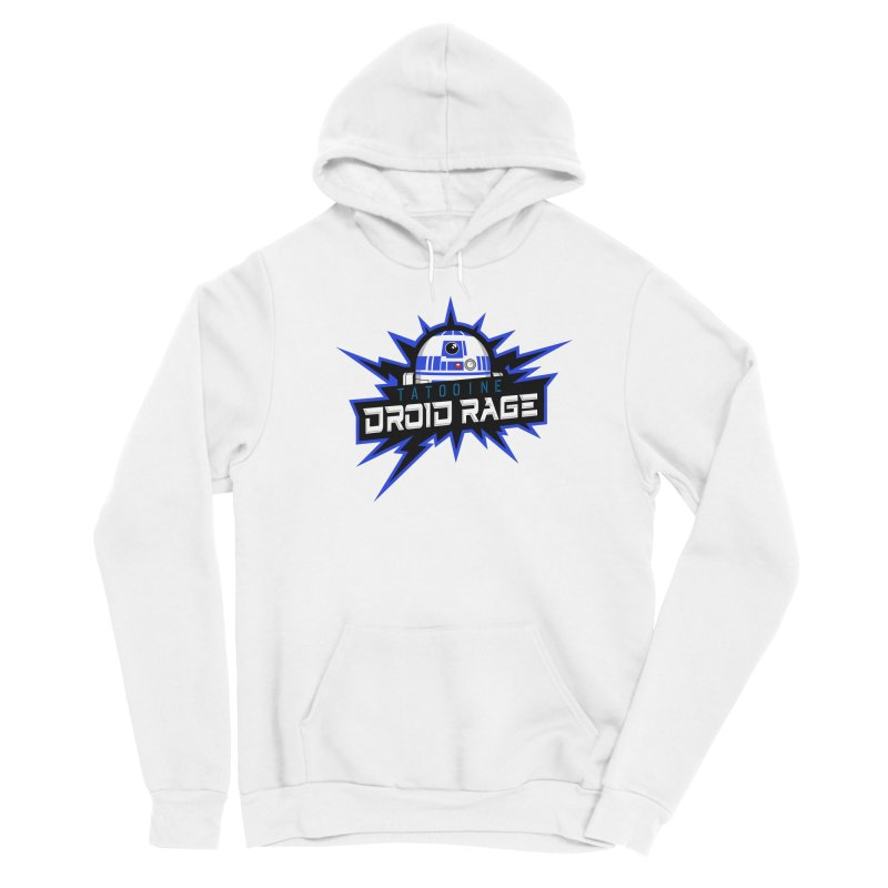 Tatooine Droid Rage Women's Pullover Hoody by Chicago Bruise Brothers Roller Derby