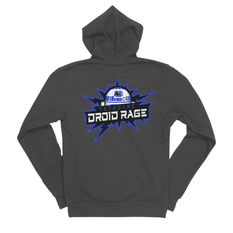 Tatooine Droid Rage Women's Sponge Fleece Zip-Up Hoody by Chicago Bruise Brothers Roller Derby