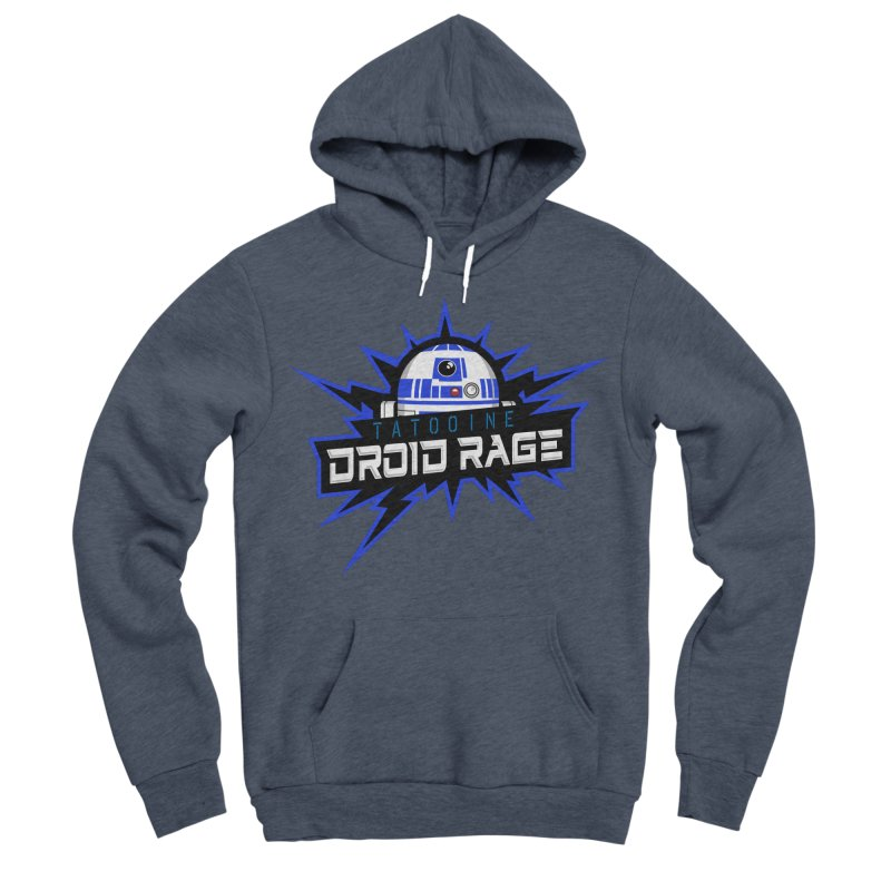 Tatooine Droid Rage Women's Sponge Fleece Pullover Hoody by Chicago Bruise Brothers Roller Derby