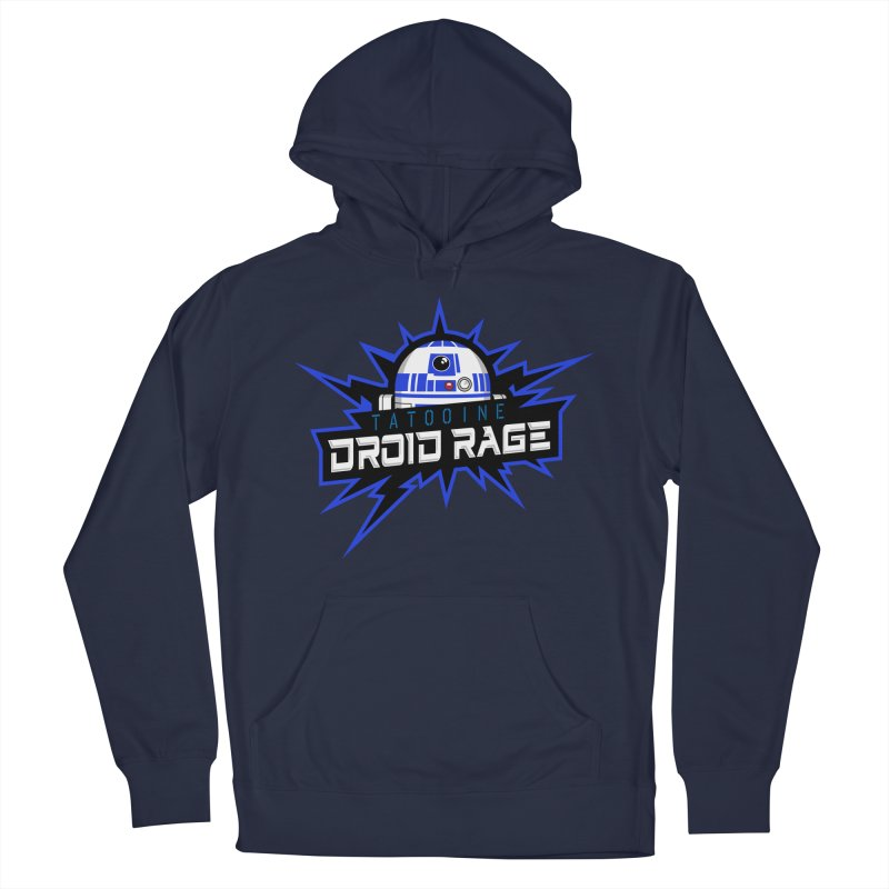Tatooine Droid Rage Men's French Terry Pullover Hoody by Chicago Bruise Brothers Roller Derby