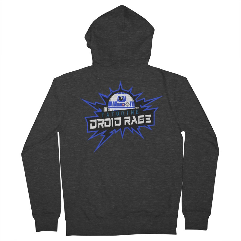 Tatooine Droid Rage Women's French Terry Zip-Up Hoody by Chicago Bruise Brothers Roller Derby