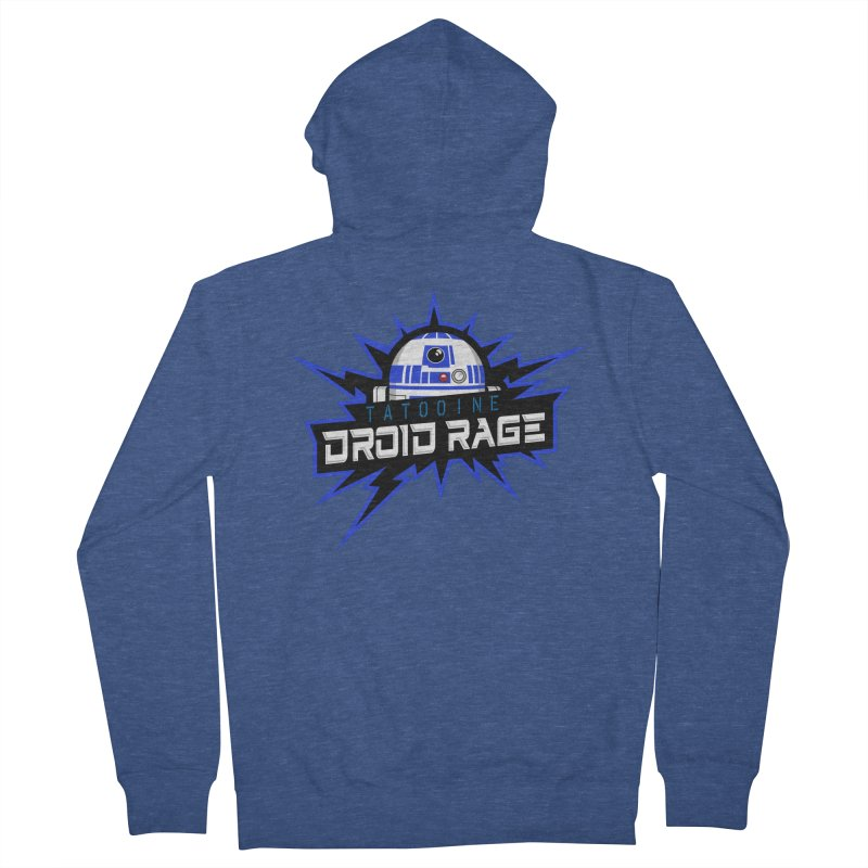Tatooine Droid Rage Men's Zip-Up Hoody by Chicago Bruise Brothers Roller Derby