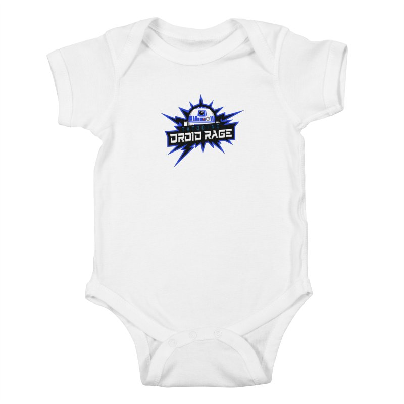 Tatooine Droid Rage Kids Baby Bodysuit by Chicago Bruise Brothers Roller Derby