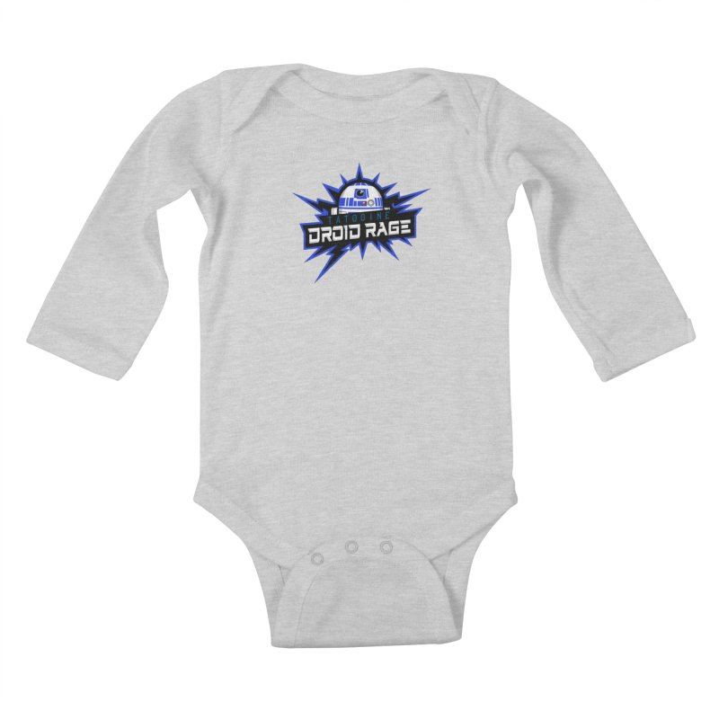 Tatooine Droid Rage Kids Baby Longsleeve Bodysuit by Chicago Bruise Brothers Roller Derby