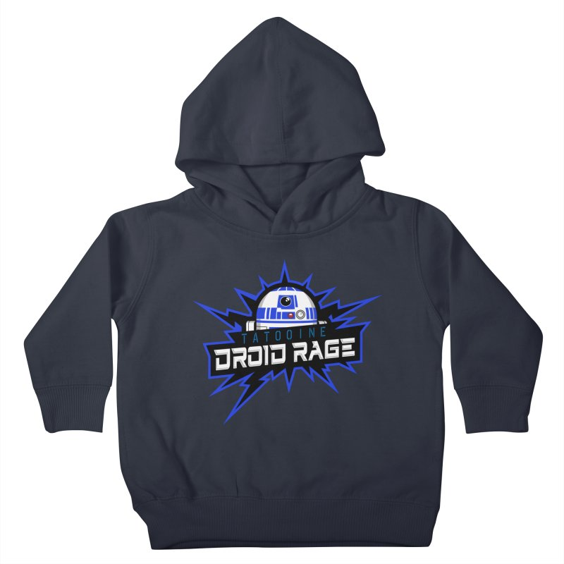 Tatooine Droid Rage Kids Toddler Pullover Hoody by Chicago Bruise Brothers Roller Derby