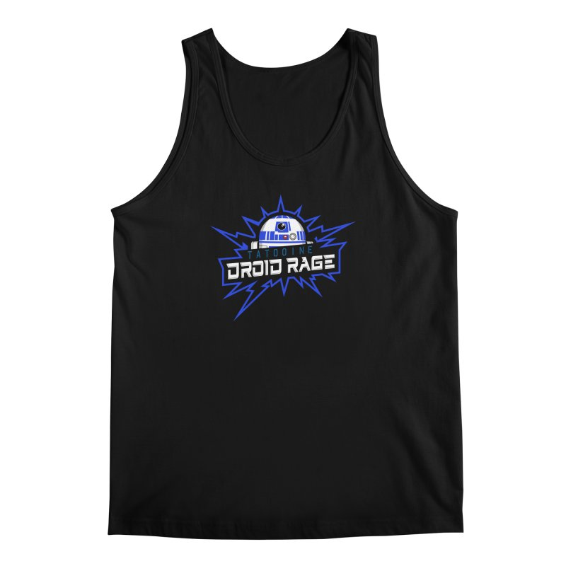 Tatooine Droid Rage Men's Regular Tank by Chicago Bruise Brothers Roller Derby