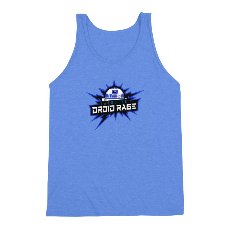 Tatooine Droid Rage Men's Triblend Tank by Chicago Bruise Brothers Roller Derby