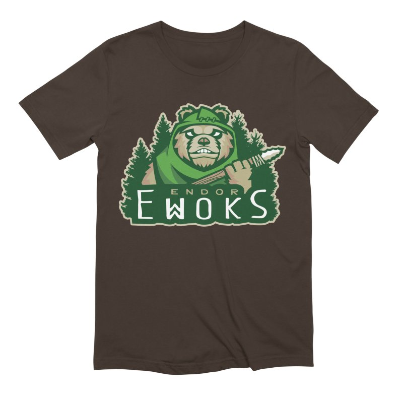 Endor Ewoks Men's Extra Soft T-Shirt by Chicago Bruise Brothers Roller Derby