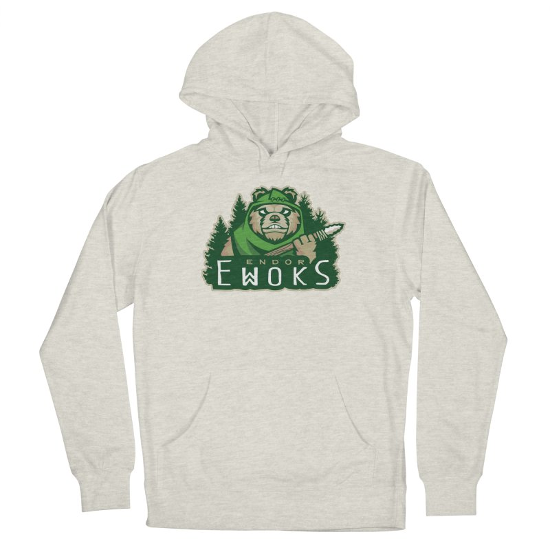 Endor Ewoks Men's Pullover Hoody by Chicago Bruise Brothers Roller Derby