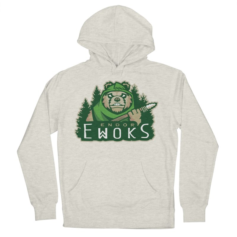 Endor Ewoks Men's French Terry Pullover Hoody by Chicago Bruise Brothers Roller Derby
