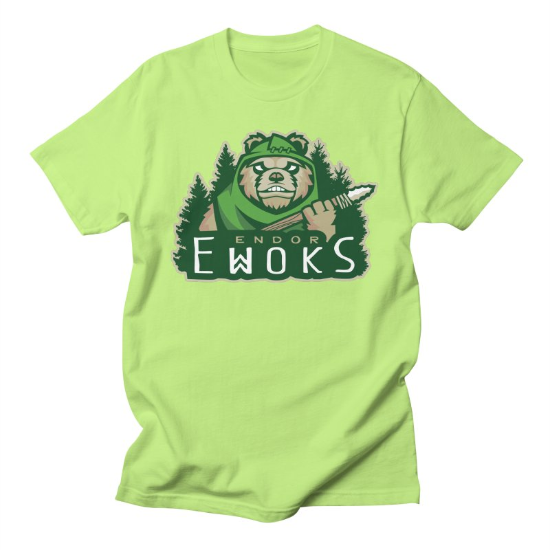 Endor Ewoks Women's Regular Unisex T-Shirt by Chicago Bruise Brothers Roller Derby