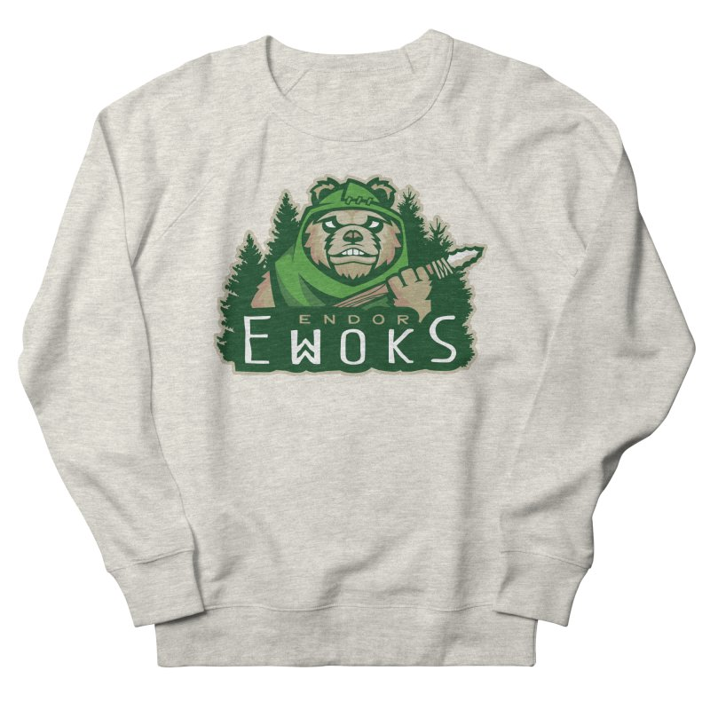 Endor Ewoks Men's French Terry Sweatshirt by Chicago Bruise Brothers Roller Derby