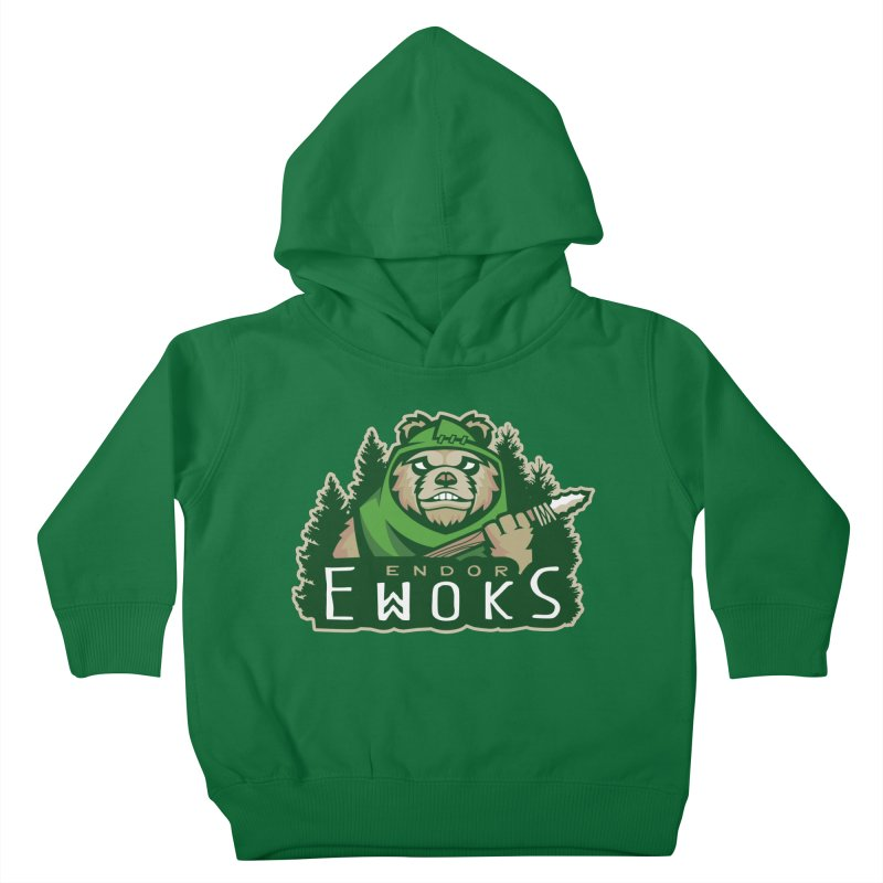Endor Ewoks Kids Toddler Pullover Hoody by Chicago Bruise Brothers Roller Derby