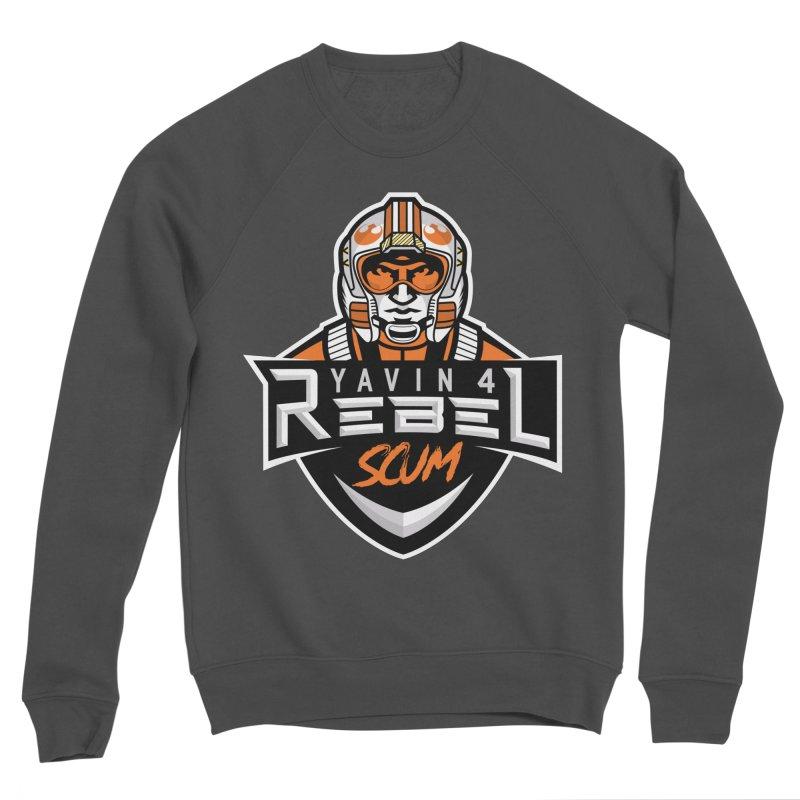 Yavin 4 Rebel Scum Women's Sponge Fleece Sweatshirt by Chicago Bruise Brothers Roller Derby