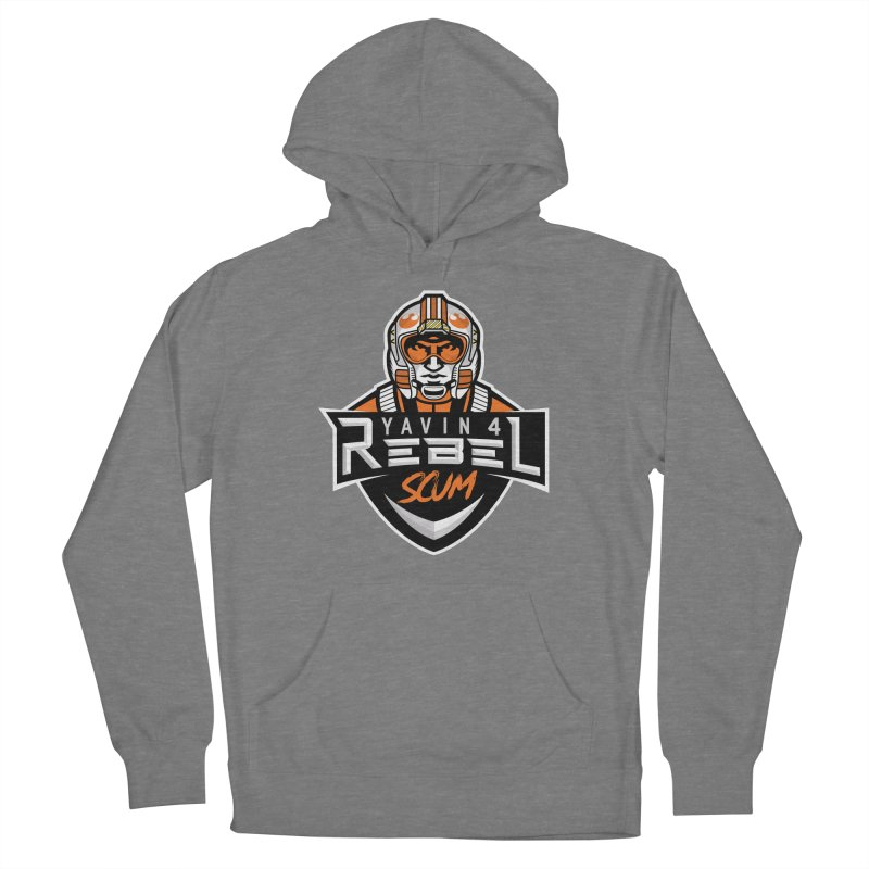 Yavin 4 Rebel Scum Women's Pullover Hoody by Chicago Bruise Brothers Roller Derby