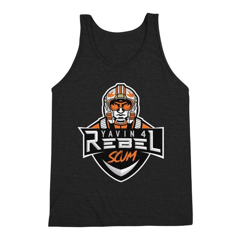 Yavin 4 Rebel Scum Men's Tank by Chicago Bruise Brothers Roller Derby