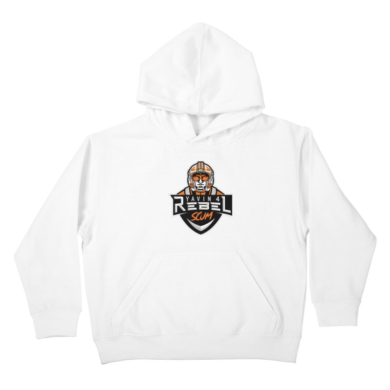 Yavin 4 Rebel Scum Kids Pullover Hoody by Chicago Bruise Brothers Roller Derby
