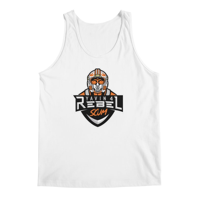 Yavin 4 Rebel Scum Men's Regular Tank by Chicago Bruise Brothers Roller Derby