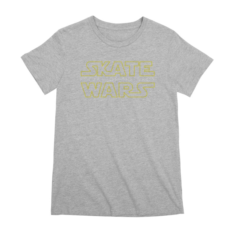 Skate Wars Women's Premium T-Shirt by Chicago Bruise Brothers Roller Derby