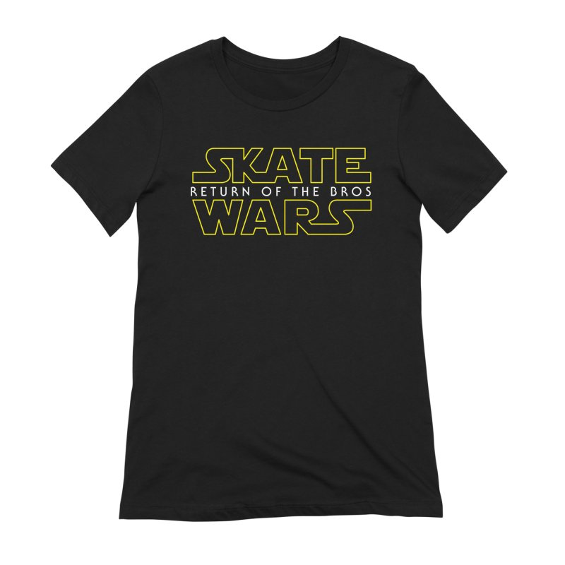 Skate Wars Women's Extra Soft T-Shirt by Chicago Bruise Brothers Roller Derby
