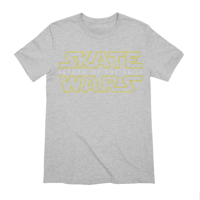 Skate Wars Men's Extra Soft T-Shirt by Chicago Bruise Brothers Roller Derby