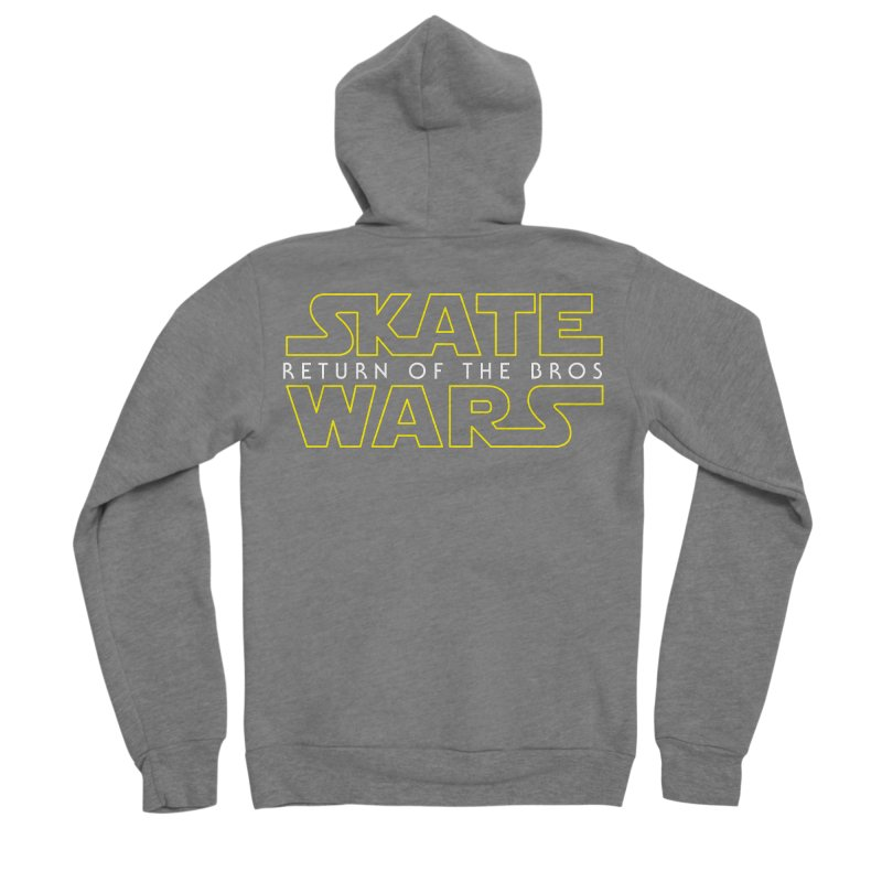 Skate Wars Women's Sponge Fleece Zip-Up Hoody by Chicago Bruise Brothers Roller Derby