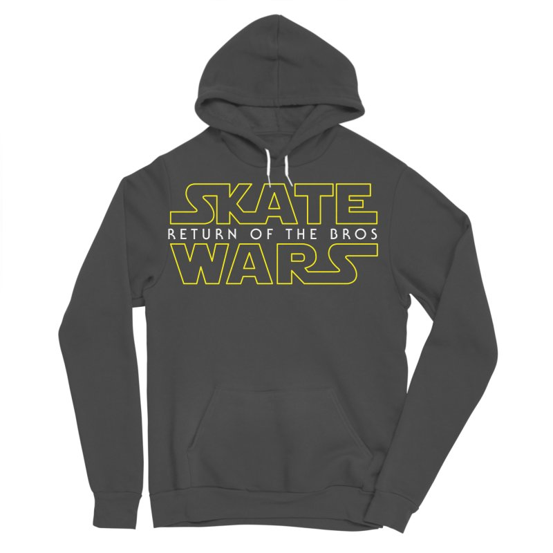Skate Wars Men's Sponge Fleece Pullover Hoody by Chicago Bruise Brothers Roller Derby
