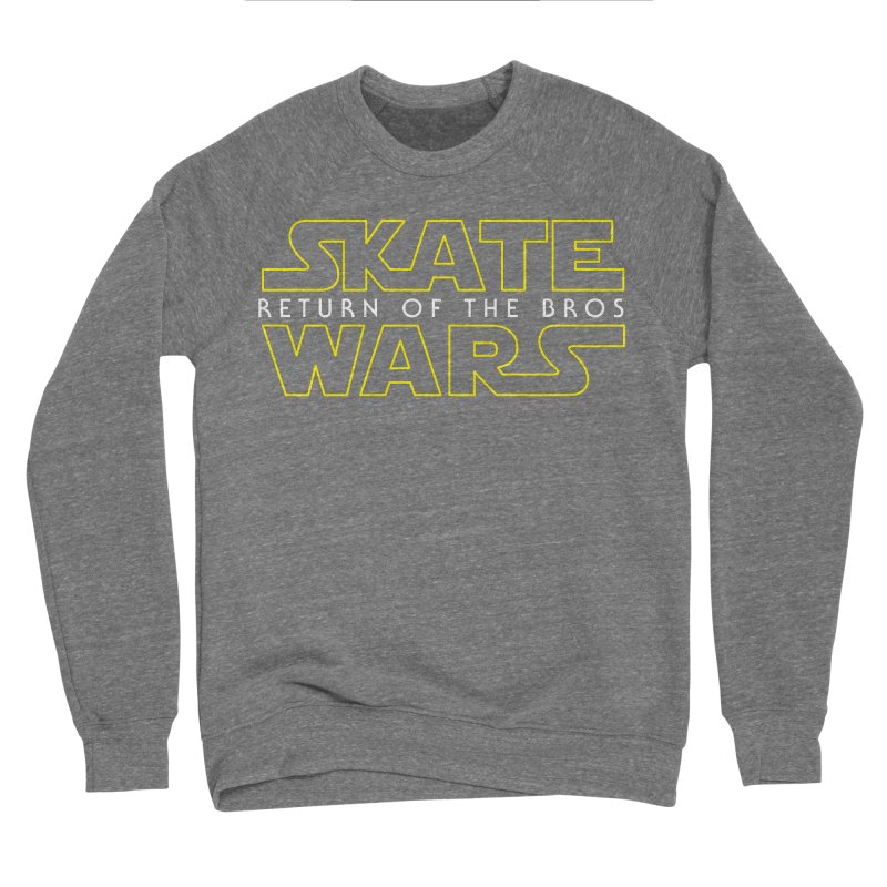 Skate Wars Men's Sweatshirt by Chicago Bruise Brothers Roller Derby