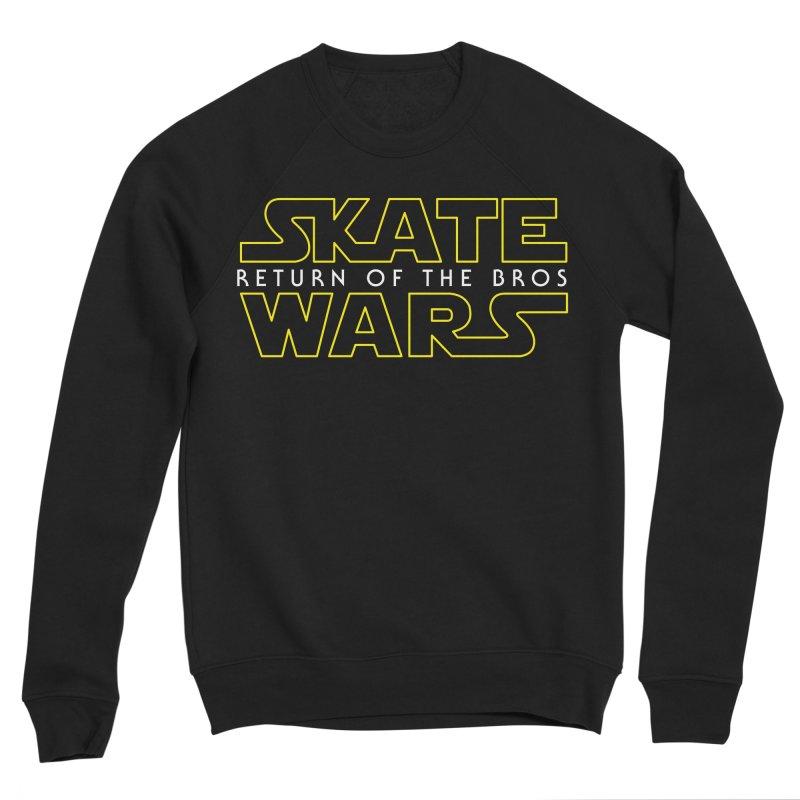 Skate Wars Women's Sponge Fleece Sweatshirt by Chicago Bruise Brothers Roller Derby
