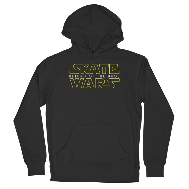 Skate Wars Men's Pullover Hoody by Chicago Bruise Brothers Roller Derby