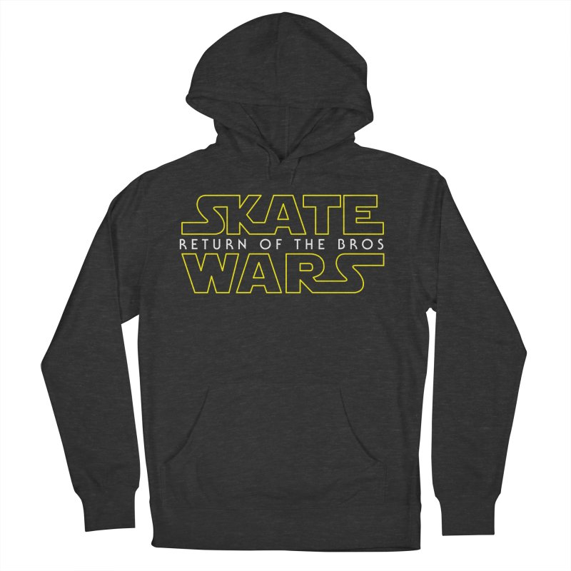 Skate Wars Men's French Terry Pullover Hoody by Chicago Bruise Brothers Roller Derby