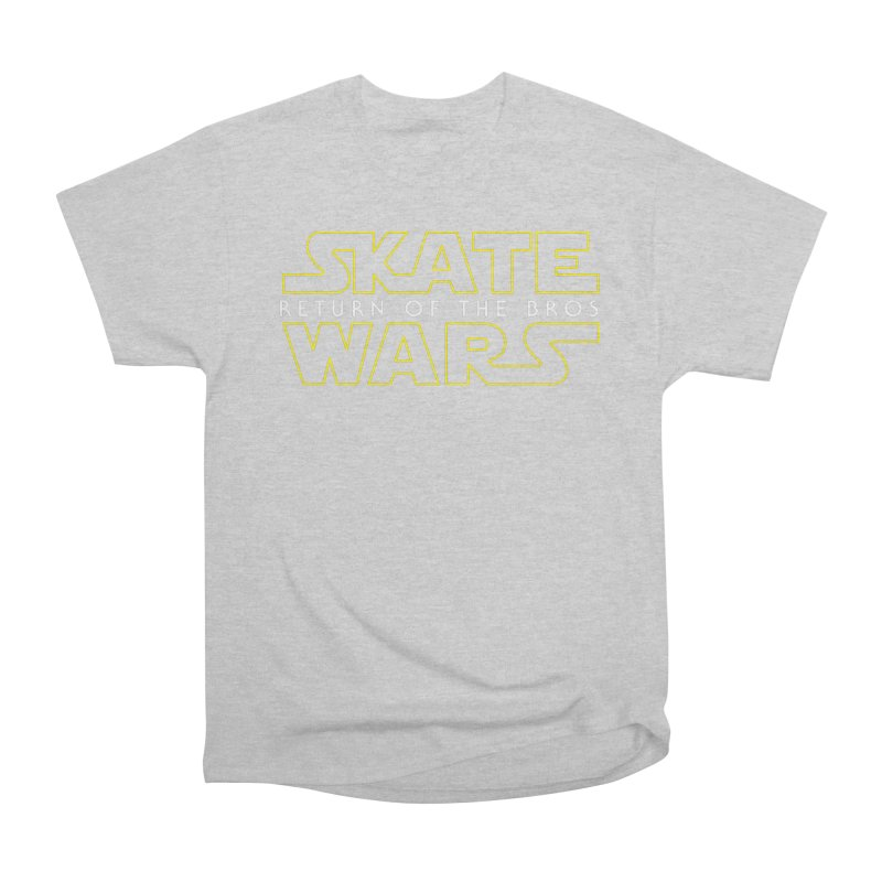 Skate Wars Women's Heavyweight Unisex T-Shirt by Chicago Bruise Brothers Roller Derby