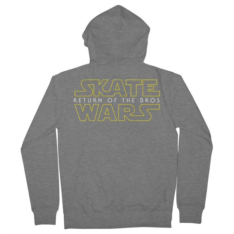 Skate Wars Women's French Terry Zip-Up Hoody by Chicago Bruise Brothers Roller Derby