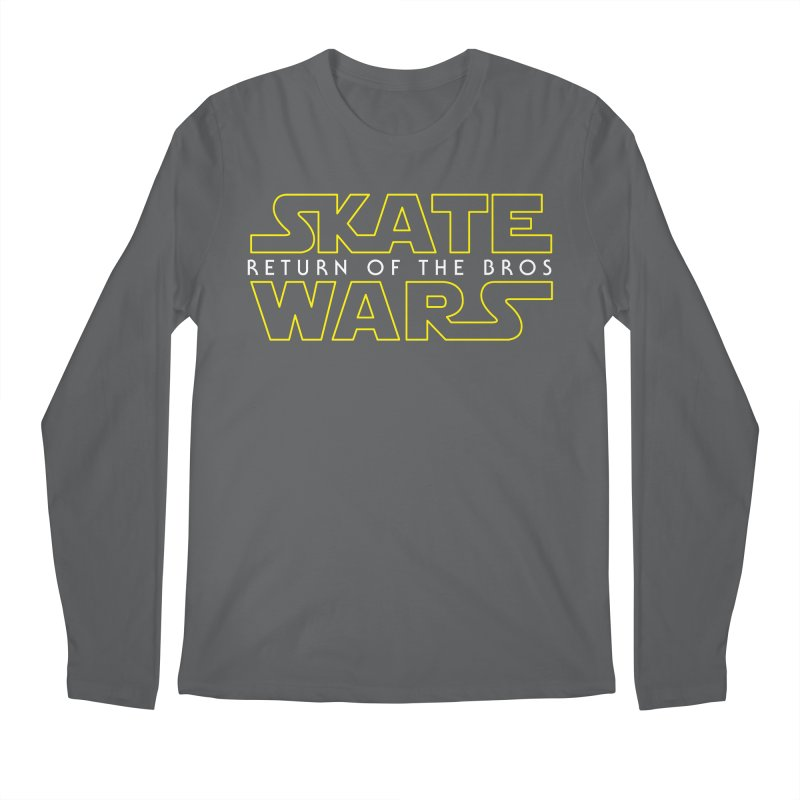 Skate Wars Men's Regular Longsleeve T-Shirt by Chicago Bruise Brothers Roller Derby