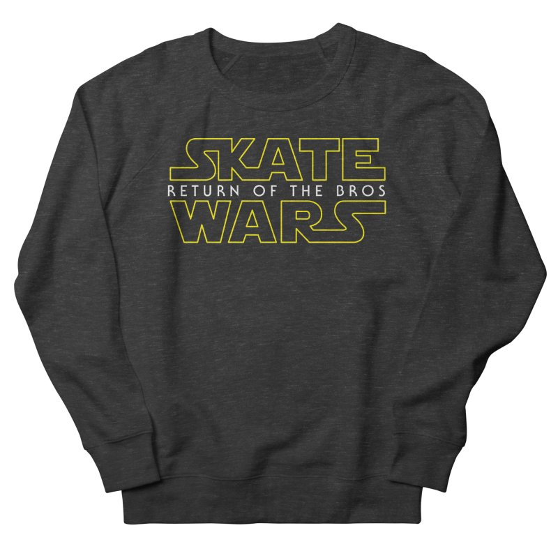 Skate Wars Men's French Terry Sweatshirt by Chicago Bruise Brothers Roller Derby