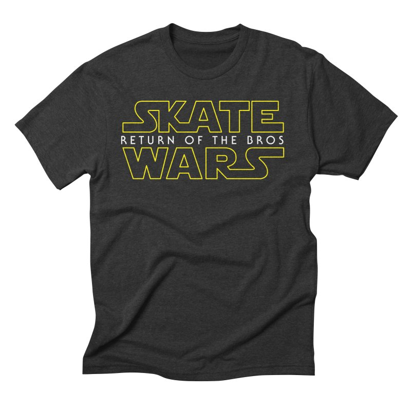 Skate Wars Men's Triblend T-Shirt by Chicago Bruise Brothers Roller Derby