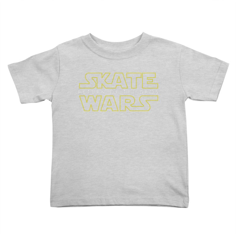 Skate Wars Kids Toddler T-Shirt by Chicago Bruise Brothers Roller Derby