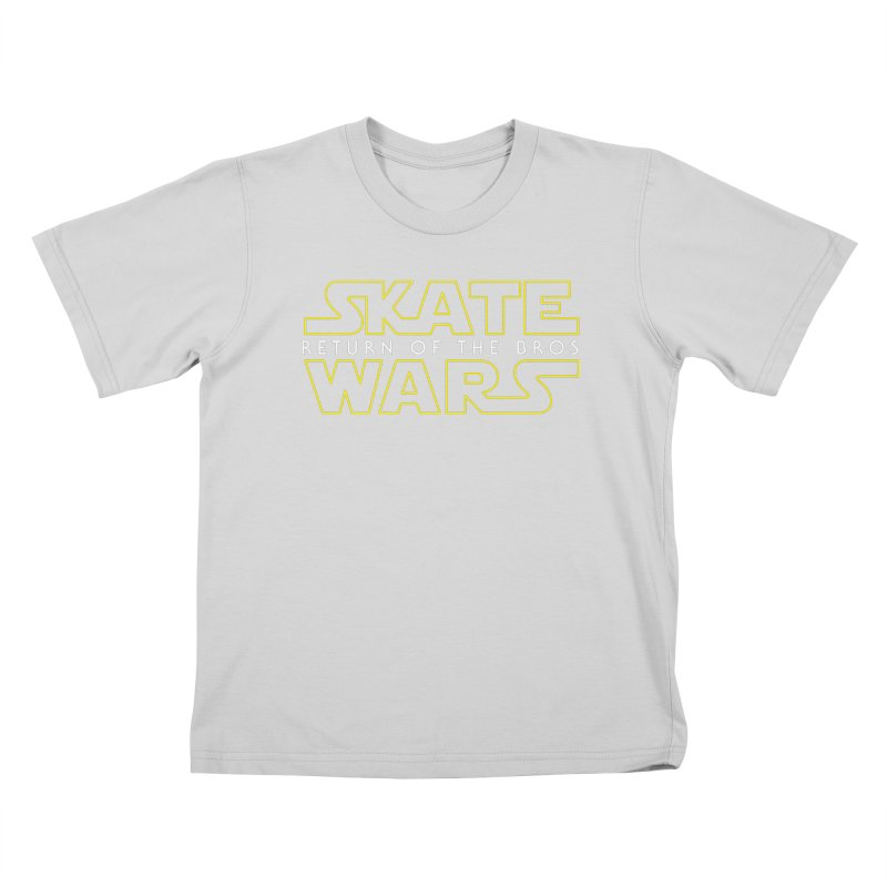 Skate Wars Kids T-Shirt by Chicago Bruise Brothers Roller Derby
