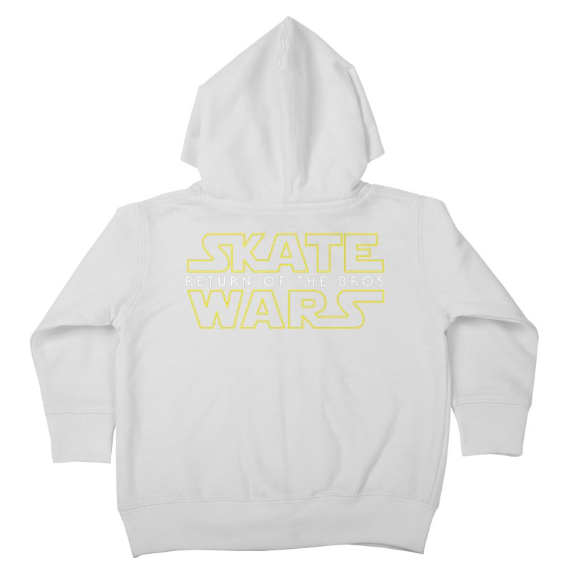 Skate Wars Kids Toddler Zip-Up Hoody by Chicago Bruise Brothers Roller Derby