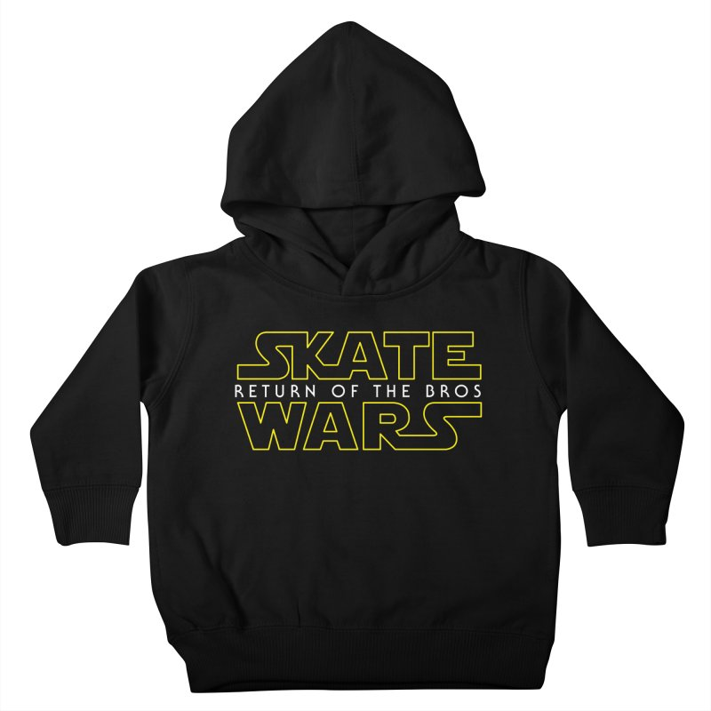 Skate Wars Kids Toddler Pullover Hoody by Chicago Bruise Brothers Roller Derby